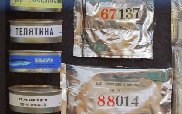 Food for cosmonauts - Sputnik International