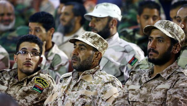 Libyan army's soldiers - Sputnik International