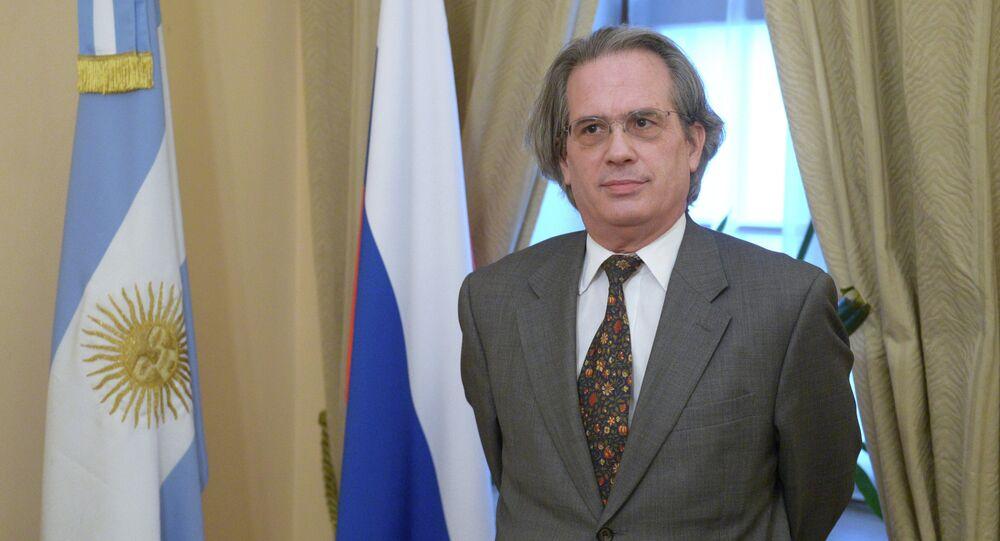 Argentine Ambassador to Russia Pablo Tettamanti