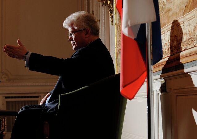 Russian Envoy to the EU Vladimir Chizhov
