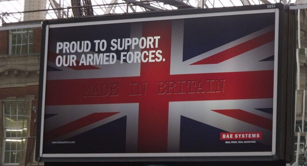 BAE Systems billboard