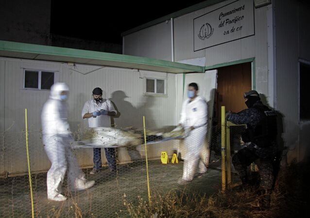 Forensic workers