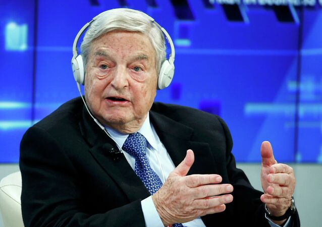 Georges Soros, Chairman of Soros Fund Management, speaks during the session 'Recharging Europe' in the Swiss mountain resort of Davos January 23, 2015. File photo.
