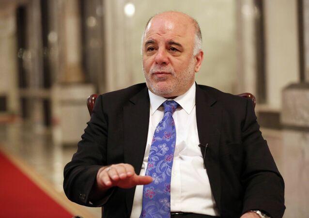 Iraq's Prime Minister Haider al-Abadi