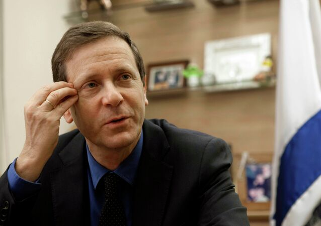 Israeli Labor Party leader Isaac Herzog