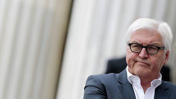 German Foreign Minister Frank-Walter Steinmeier - Sputnik International