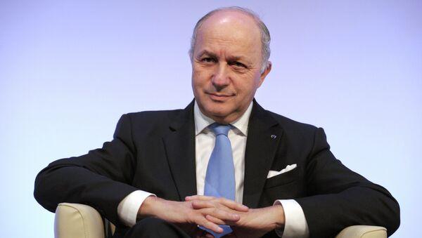 French Foriegn Minister Laurent Fabius - Sputnik International
