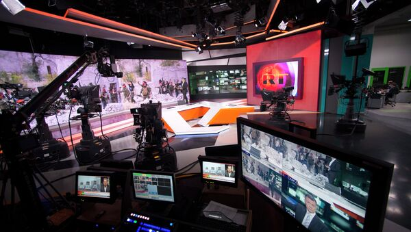 RT newsroom - Sputnik International