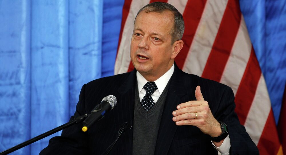 US General John Allen, special envoy for building the coalition against Islamic State
