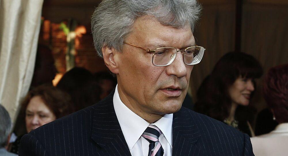 Russia's Ambassador to Italy Sergei Razov