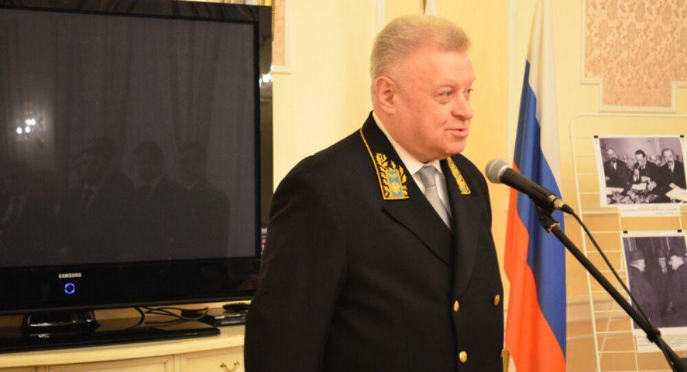 Russian Ambassador to Lithuania Alexander Udaltsov