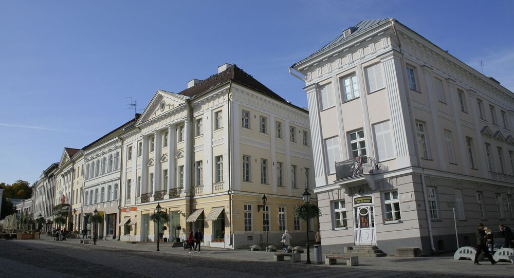 The Tartu, Estonia Art Museum, right.