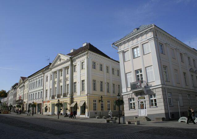 The Tartu, Estonia Art Museum, right.