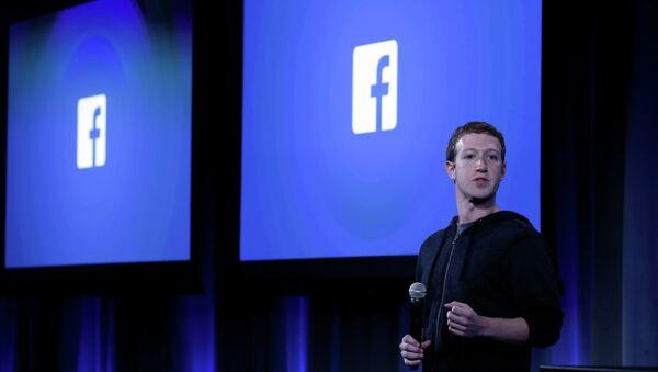 Facebook Co-Founder Mark Zuckerberg - Sputnik International