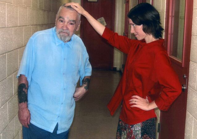 Charles Manson and Afton Elaine Burton
