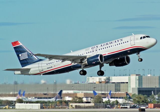 A US Airways aircraft made an emergency landing without the nose gear at George Bush Intercontinental Airport in Houston, Texas