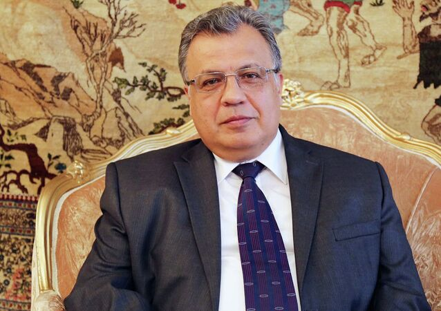 Russian Ambassador to Turkey Andrey Karlov