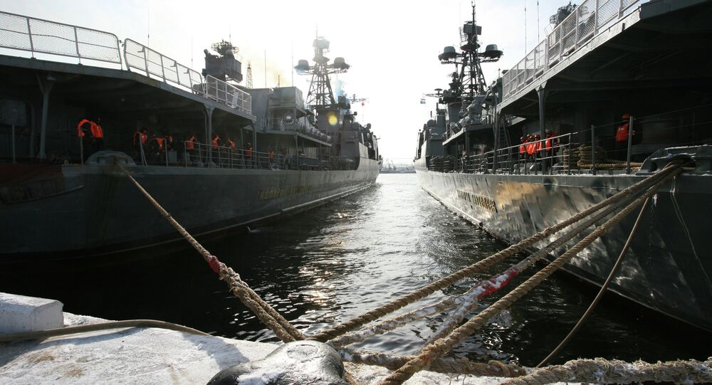 Pacific Fleet ships