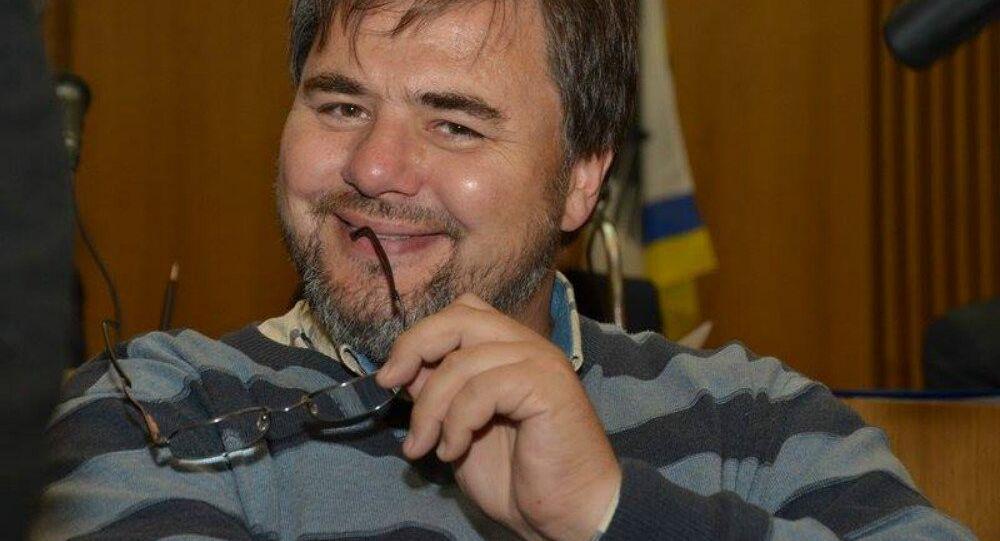 Ukrainian journalist Ruslan Kotsaba's arrest has led to outrage among Ukrainian rights groups and among some local media.