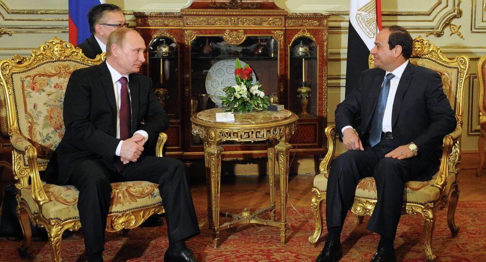 Russian President Vladimir Putin visits Egypt. Day Two