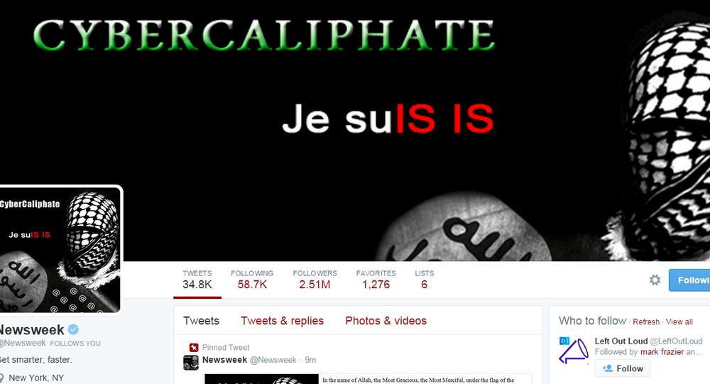 Newsweek hacked by CyberCaliphate