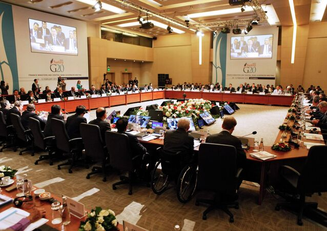 General view of the G20 finance ministers and central bank governors meeting in Istanbul February 10, 2015