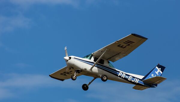 The U.S. Marshals Service flies small Cessna planes mounted with cell-phone tracking systems. - Sputnik International