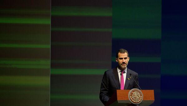 Spanish King Felipe VI - Sputnik International