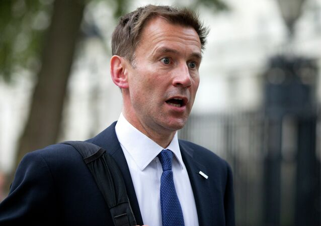 British Health Secretary Jeremy Hunt