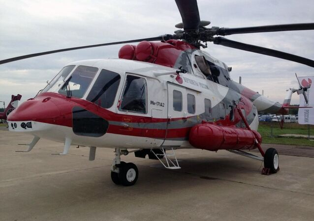 The Mi-171A2 transport helicopter