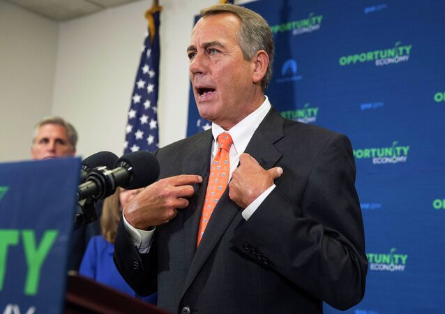 US House of Representatives Speaker John Boehner said more than 20 US governors sent a letter to the White House, asking Barack Obama to sign the final bill authorizing the Keystone XL pipeline project