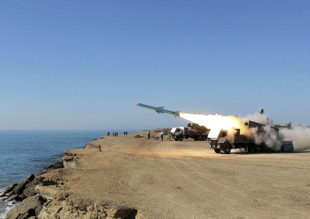 A Ghader missile