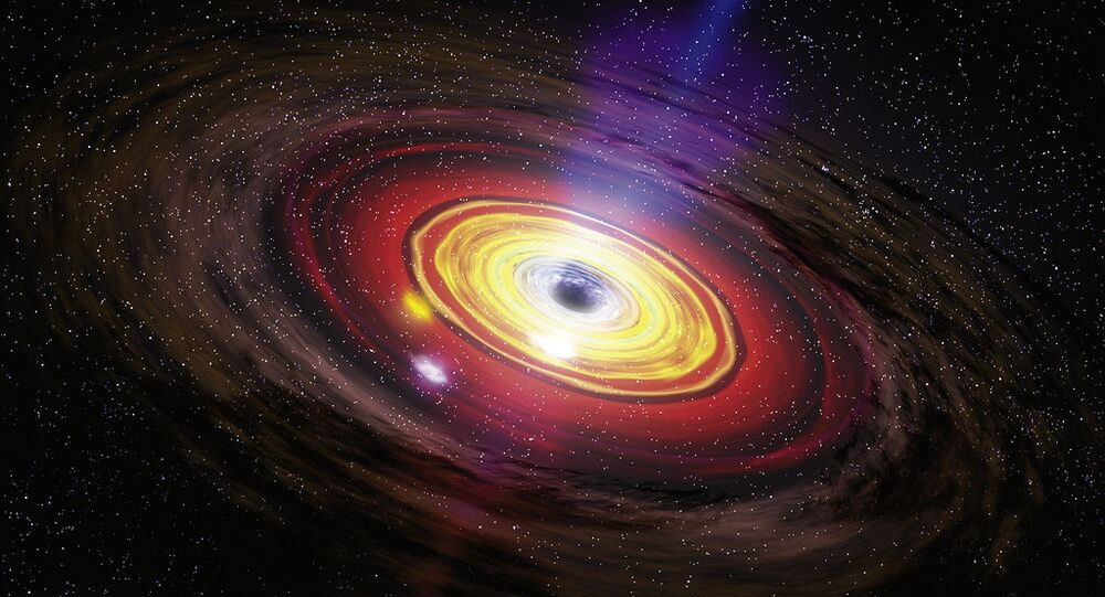 This black hole devours nearly one Sun in a day