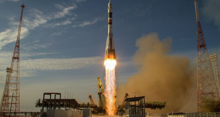 International Space Station in Baikonur, Kazakhstan