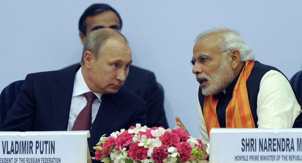 Vladimir Putin's official visit to India