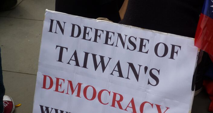 Despite the fact that China and Taiwan split after the Civil War in 1949, China considers it part of its territory.