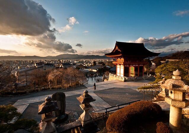 Kiyomizudera temple. Kyoto