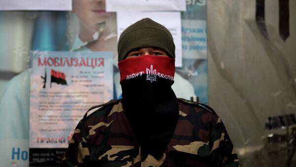 Right Sector fighter - Sputnik International