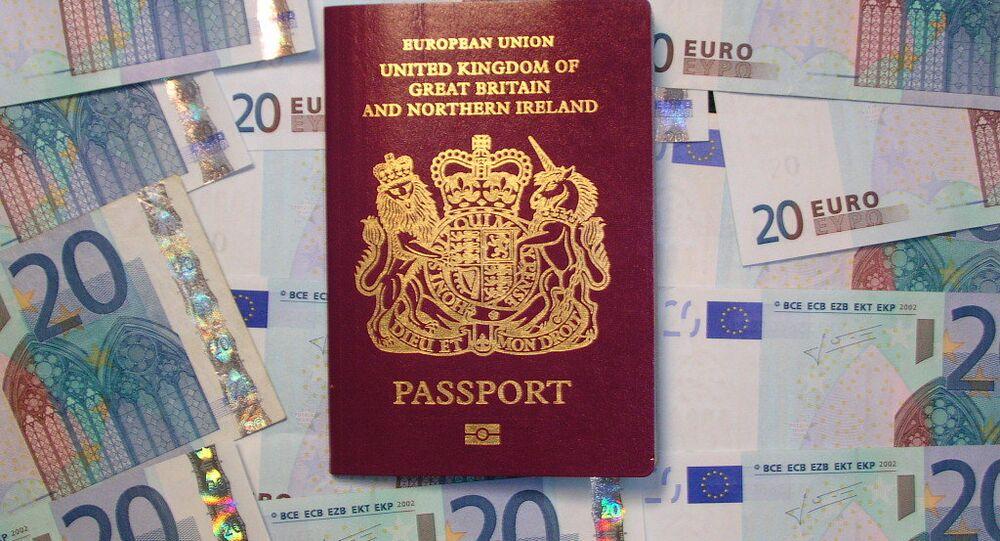 UK biometric passport