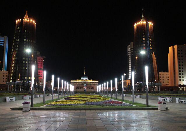 World cities. Astana