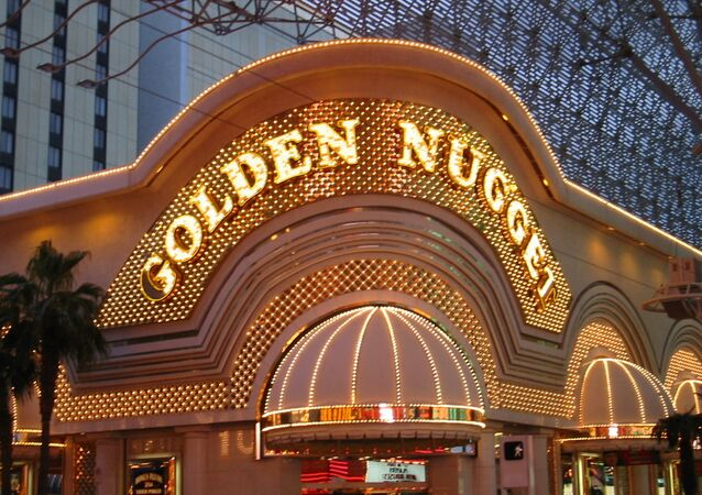 The Golden Nugget casino claims the eight decks of cards used in the game had not been shuffled by the manufacturer before they were used.