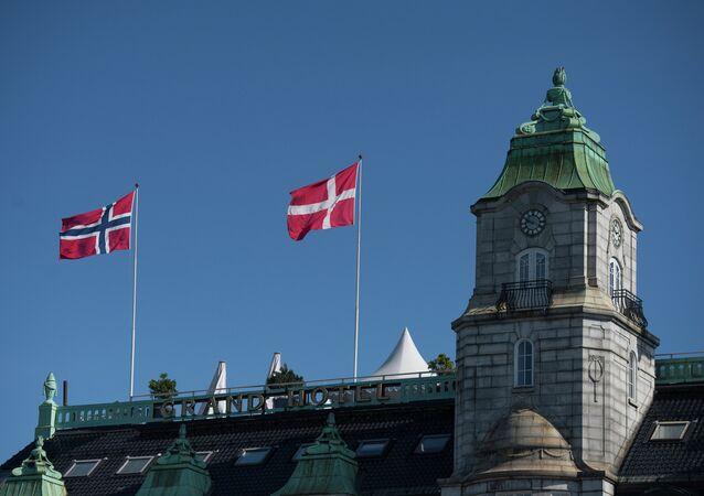 Grand Hotel building in Oslo. (File)