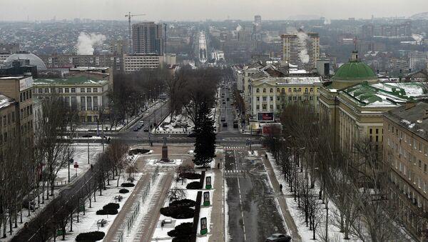 View of the center of Donetsk. (File) - Sputnik International