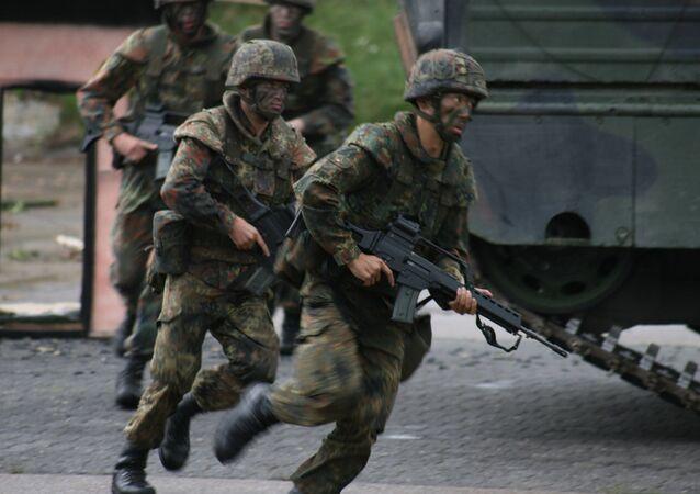 German Bundeswehr soldiers
