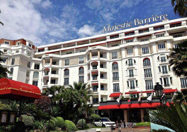 Majestic Hotel. Cannes, France.