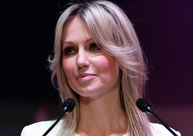 Magdalena Ogorek, presidential candidate for the social democratic Democratic Left Alliance
