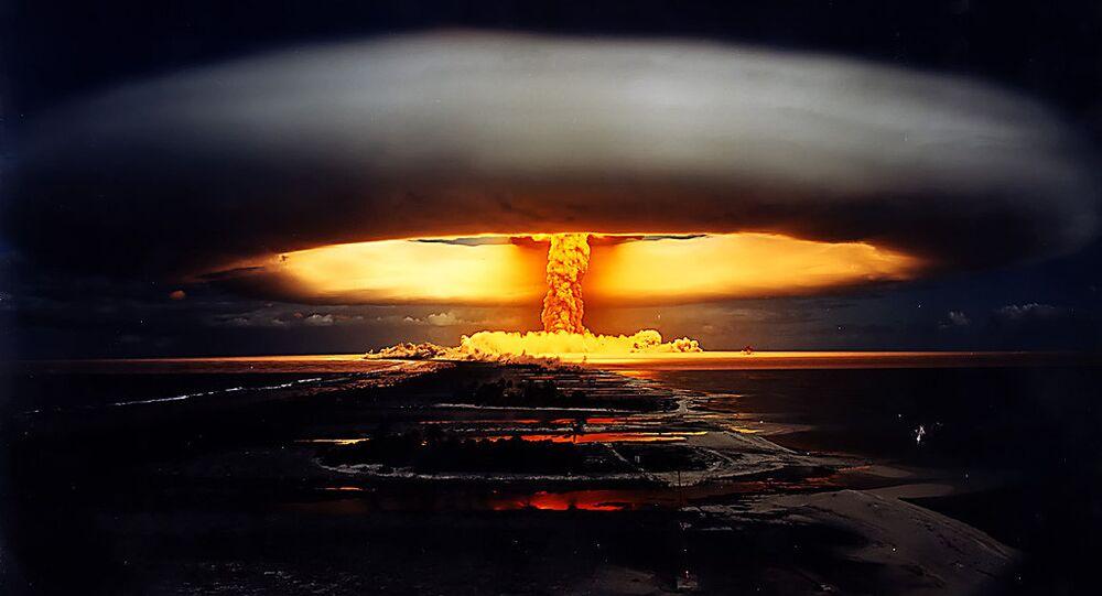 Licorne nuclear test – French Polynesia, 1970