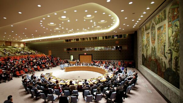The UN Security Council - Sputnik International
