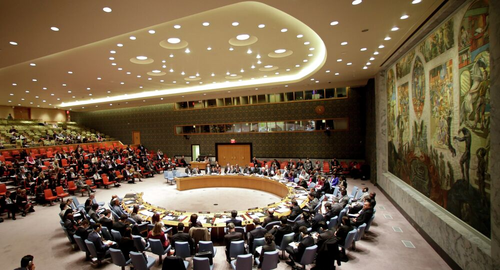 UN Security Council adopted on Tuesday a draft resolution initiated by Russia in support of Minsk agreements