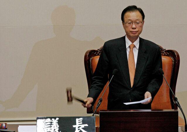 Former South Korean National Assembly Speaker Park Hee-tae
